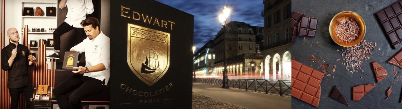 EDWART CHOCOLATIER -PARIS-
